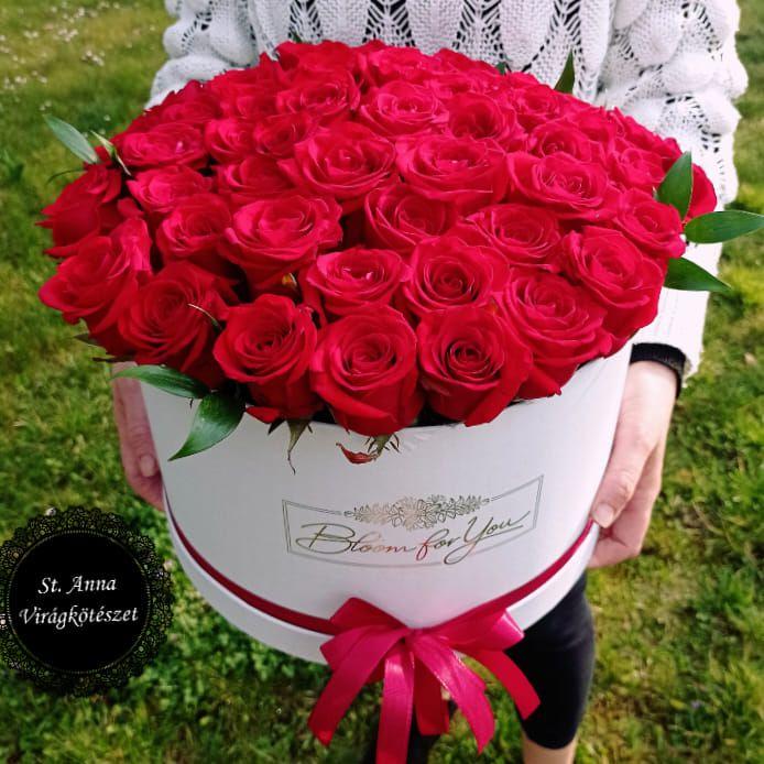 Virágdoboz 'Red Eagle'